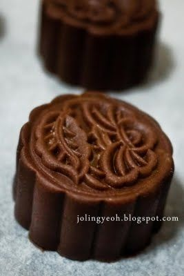 Baked Chocolate Mini Mooncake Recipe