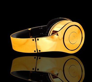Audifonos de oro son un excepcional regalo que puede comprar con @GrandesLoterias