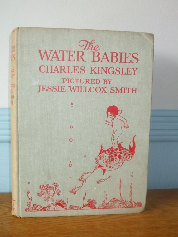 The Water Babies Dated 1938 Charles by PrintsPlatesAndPages
