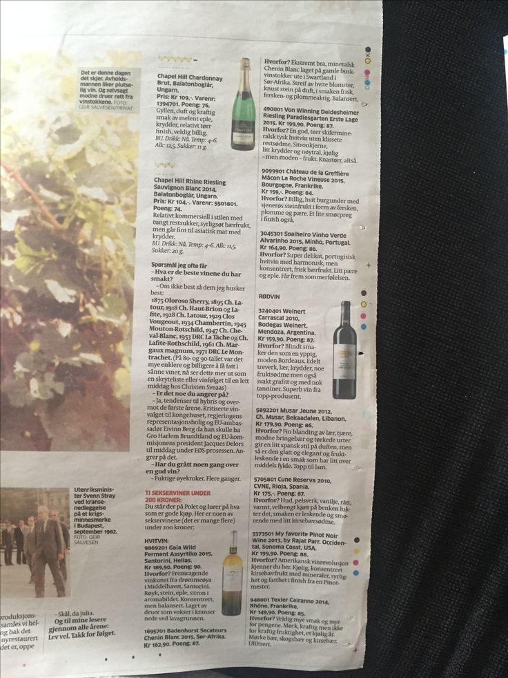 10 viner under 200kr