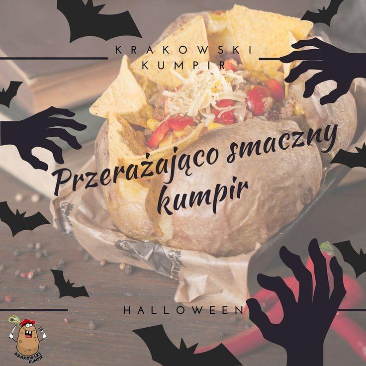 Jesteście gotowi na PRZERAŻAJĄCO PYSZNEGO KUMPIRA? ;)  ZAPRASZAMY ☚ http://krakowskikumpir.pl/kontakt/ ☛   #krakowskikumpir #kumpir #bar #pieczonyziemniak #ziemniak #potato #bakedpotatos #kraków #krakow #rzeszów #rzeszow #warszawa #stolica #katowice #polska #poland #googfood #food #jedzenie #zawsześwieże #halloween #jesień #autumn #nachandrę #blues #online