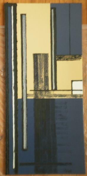 La dimensione nella parte 50x109 olio, smalto