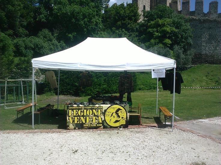 Stand Legione Veneta Softair @ Este in gioco 2013