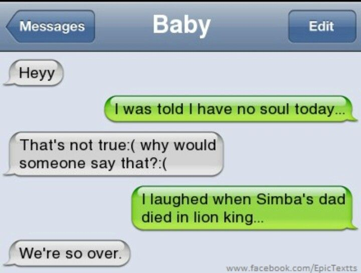 The lion king. Not Mufasa! We're so over