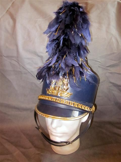 Navy Hat Plumes $8.20