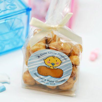 baby shower nuts favors
