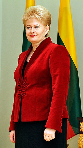 President of Lithuania Dalia Grybauskaitė - Born: March 1, 1956 (age 58), Vilnius, Lithuania, Office: President of Lithuania since July 12, 2009