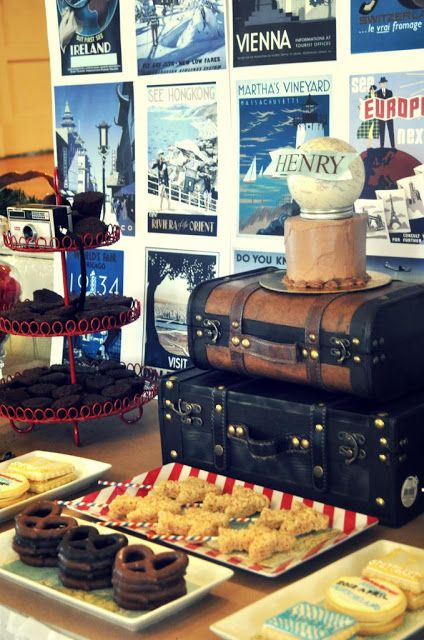 vintage travel party   beautifully together on the vintage travel party seen on hwtm