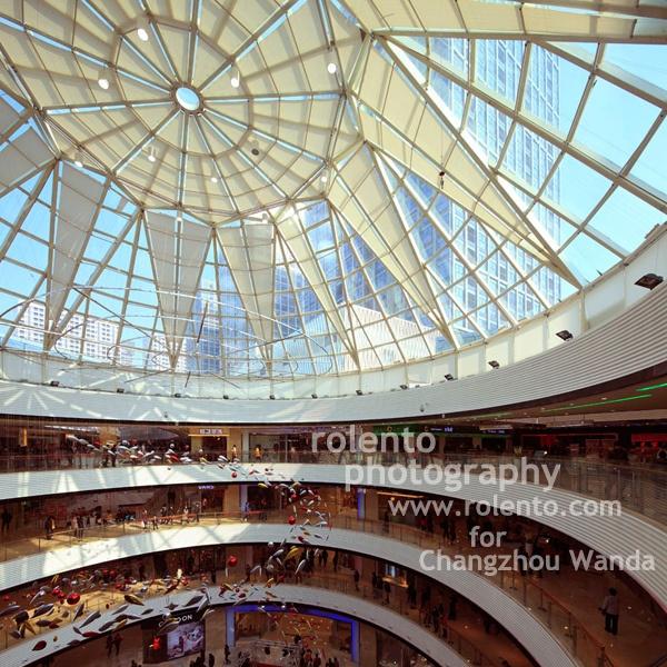 Interior architecture photography for Changzhou Wanda Plaza, China