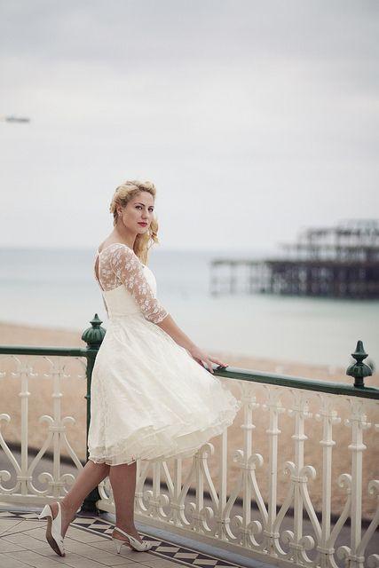 Bridal Style: 50s Style Wedding Dresses