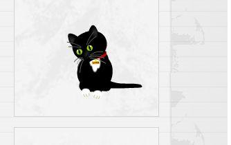 Кот для сайта