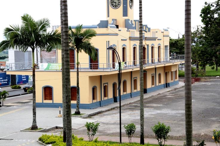 Estación del ferrocarril.  Crédito Sandra Preciado. Mincultura 2012/ @CulturAlbergues