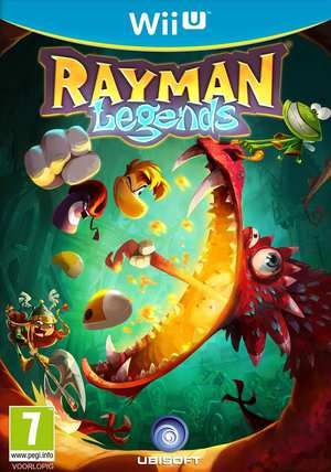 Rayman Legends Wii U  Rayman Globox en de Teensies wandelen door een betoverd bos en ontdekken een mysterieuze tent gevuld met allerlei boeiende schilderijen. Wanneer ze goed kijken merken ze dat elk schilderij het verhaal van een mythische wereld vertelt. Terwijl ze aandachtig kijken naar een schilderij dat een middeleeuws landschap afbeeldt worden ze plots in het schilderij gezogen.Zo betreden ze de magische wereld en kan het avontuur beginnen. De bende moet rennen springen en vechten door…