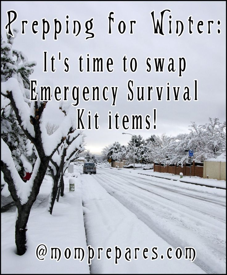 Prepping for Winter: Swapping Summer Kit Items for Cold Weather | #preparedness #winter #gear