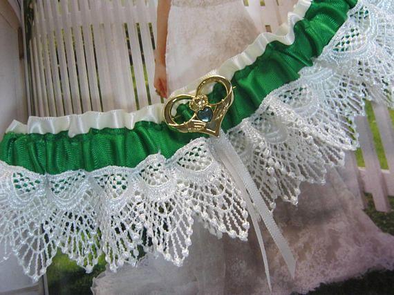 Irish Wedding Garter