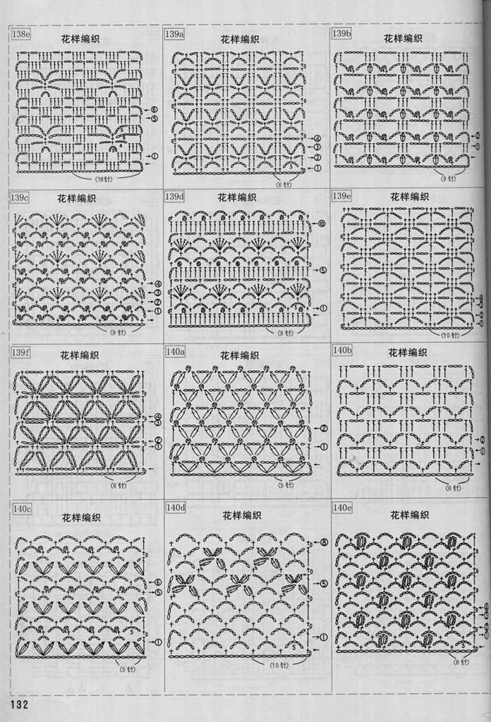 1888 best Gráficos crochet images on Pinterest | Knit crochet ...