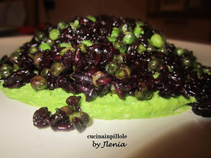 riso nero e verde