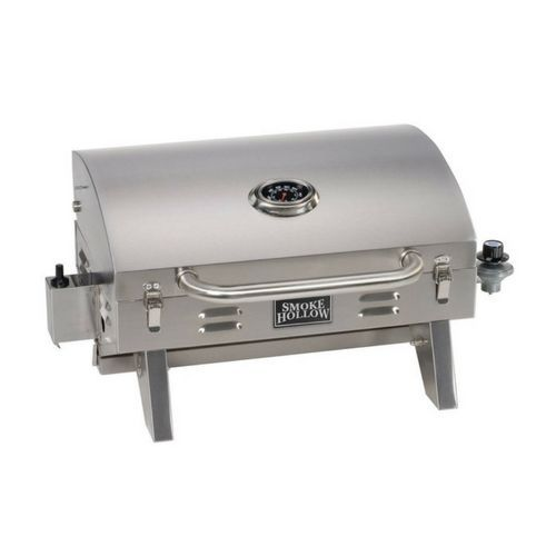Gas Barbecue Grill Garden Tabletop Stainless Steel Backyard Family Portable #GasBarbecueGrill