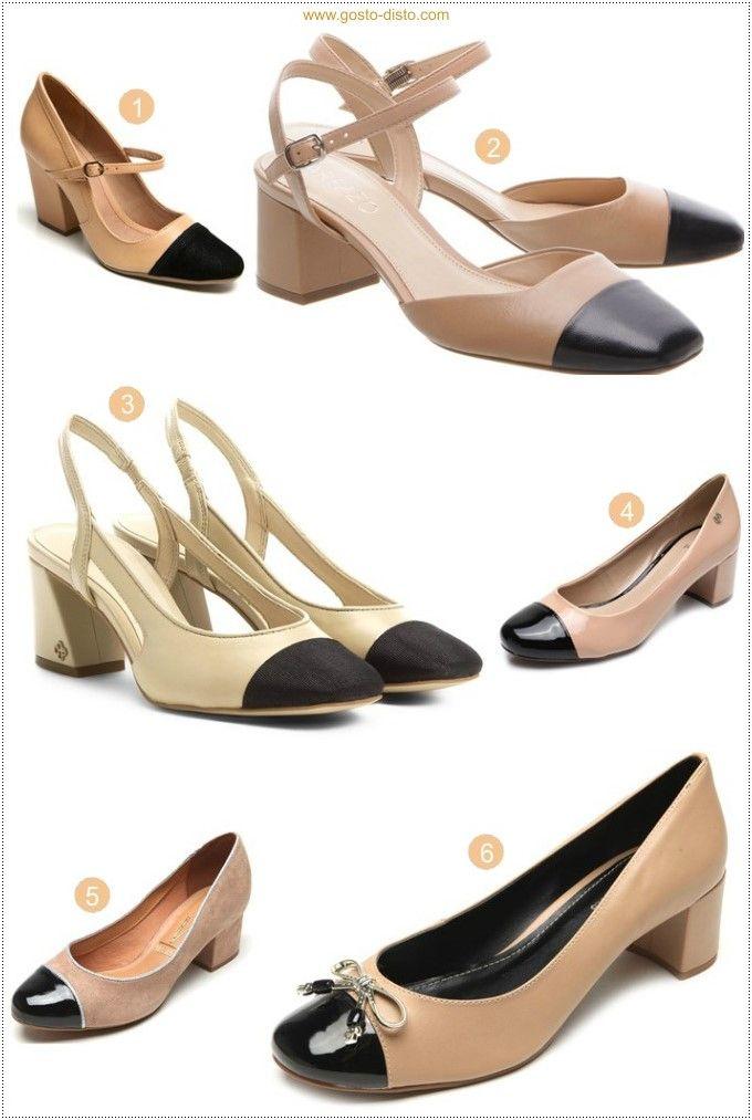 2c50f9985 Como usar sapato chanel bicolor em 2019 | Roupas | Sapatos chanel ...