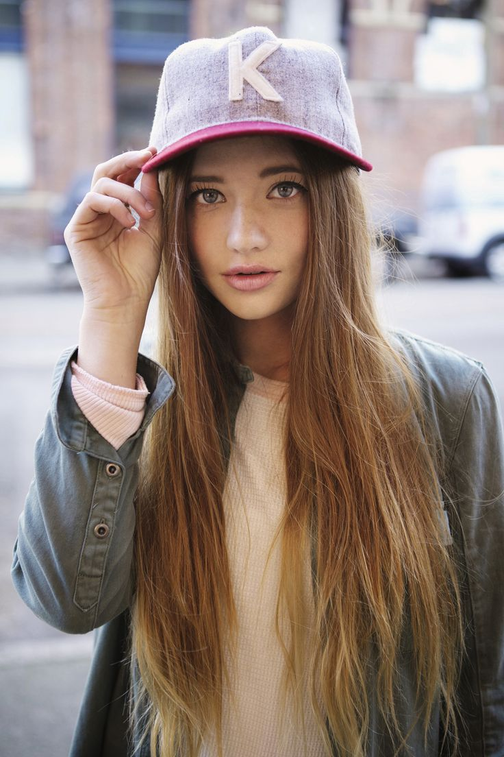 72 best chicks with hats! images on pinterest | snapback, swag