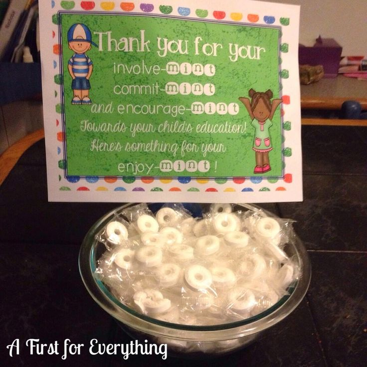 FREE. Adorable open house/parent teacher conference sign/display.