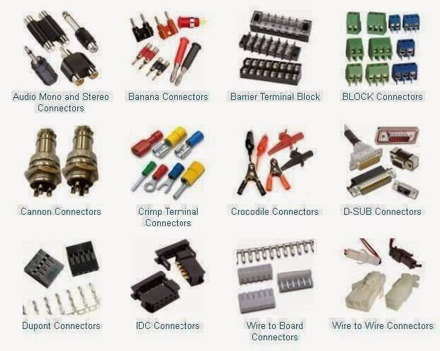 Types Of Connectors Electrical Engineering Books