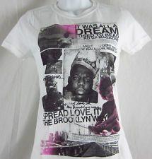 biggie smalls vintage t-shirt for women   Women's Jr's Biggie Smalls Notorious Big Brooklyn Mint Rapper T shirt ...