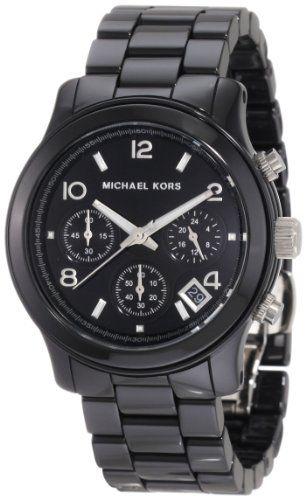 Michael Kors Women's MK5162 Black Ceramic Runway Watch Michael Kors http://www.amazon.com/dp/B002IVTFCS/ref=cm_sw_r_pi_dp_au7Bub1QJRRD4