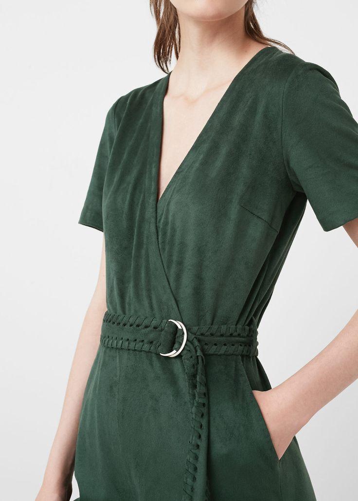 Combinaison-pantalon avec ceinture | MANGO