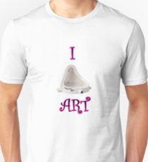 I Urinal Art Dada  Unisex T-Shirt