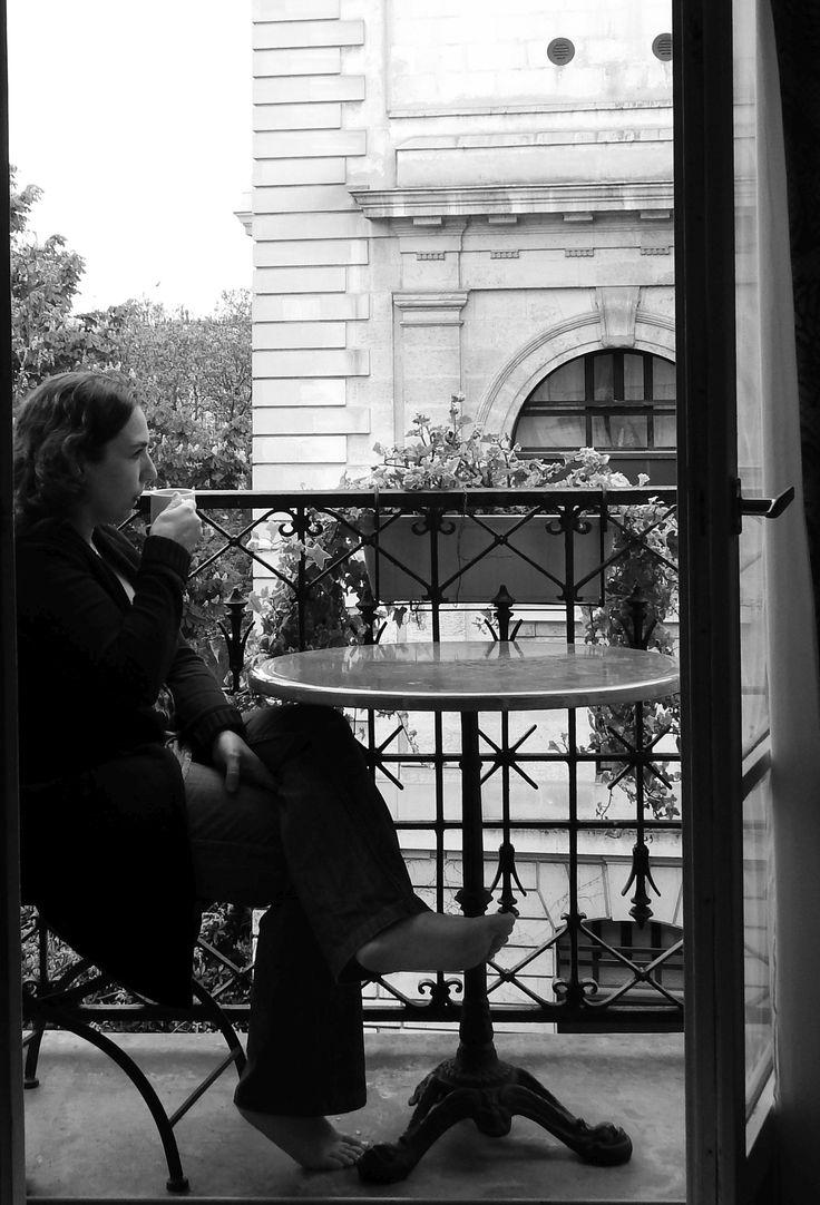 Café en París.