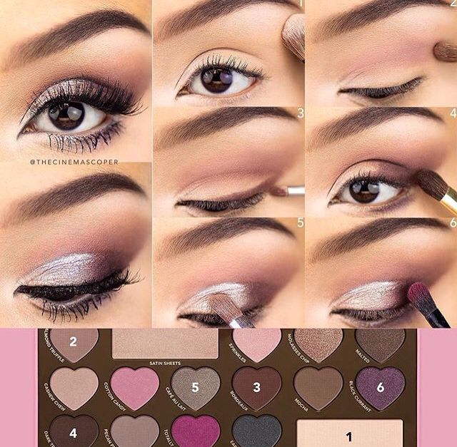 Too faced bon bon look