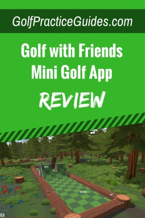 Looking for the best golf apps and games to play with friends? Check out this new golf app called Golf with Friends which is a virtual mini putt putt golf course. It comes packed with lots of features. Read our review of the game by clicking the Read It link button.