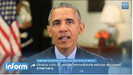 WATCH: Obama demands Iran release Pastor Abedini, USMC Amir Hekmati and Jason Rezaian immediately