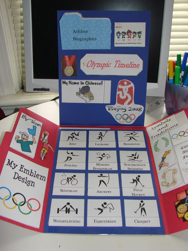 Summer Olympics 2012 Lapbook Notebook FREE Lessons Printables