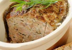 Terrine de foies volailles au porto - Recettes - Cuisine française. À préparer la veille de la dégustation.