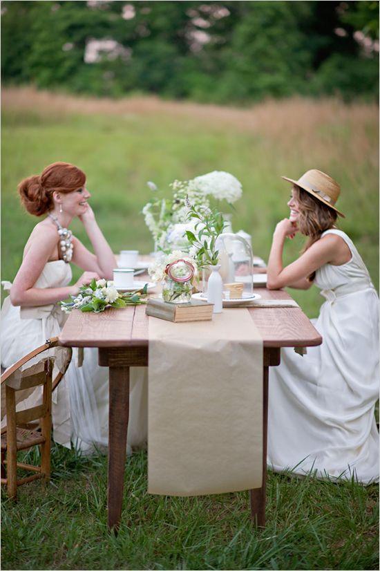 outdoor wedding ideas. so lovely