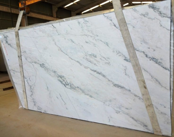Granite That Looks Like Carrara Marble Provides A