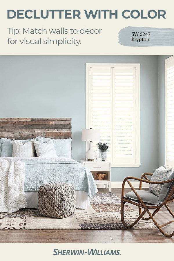 Did You Know That The Right Sherwin Williams Wall Color Can Make A Room Look Uncluttered He In 2020 Paint Colors For Living Room Living Room Colors Family Room Colors