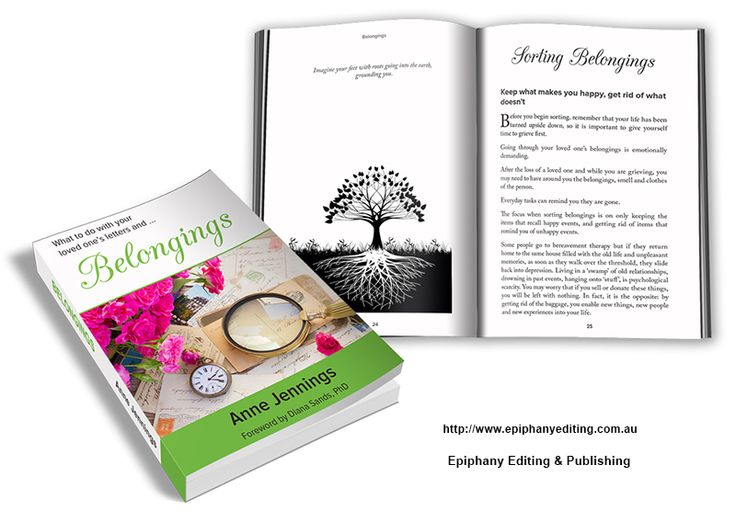 Book design for 'Belongings'. Visit www.epiphanyediting.com.au for more examples of book design #bookdesign #selfpublishing