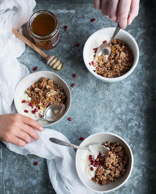 A sweet & tart wake up call from @thelittleplantation with gingerly…