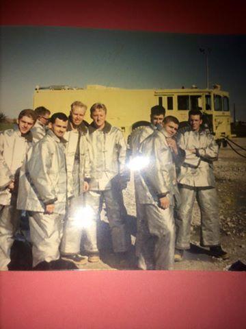 Chanute AFB Crash Rescue Training Pic | USAF Crash Rescue ...