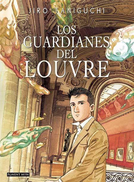 """""""Los guardianes del Louvre"""" de Jiro Taniguchi. Ficha elaborada por María Asensio."""