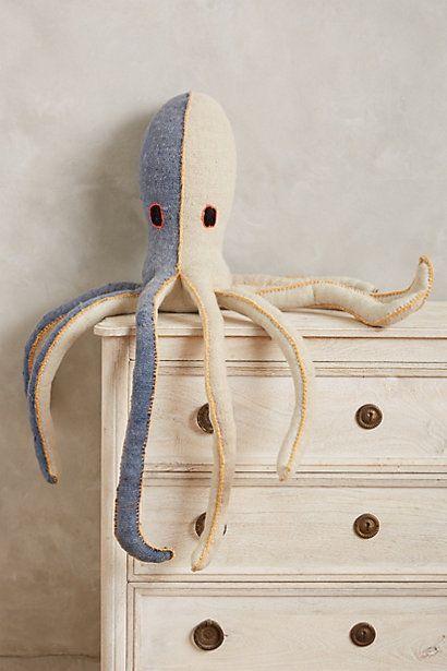 Octopus Stuffed Animal - anthropologie.com #anthroregistry