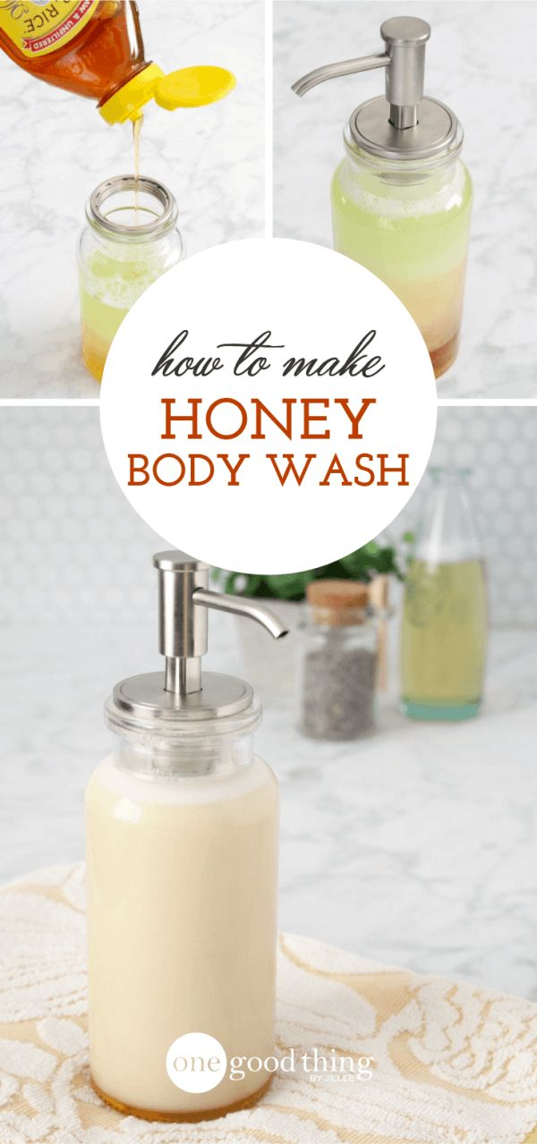 How to Make a Natural 4-Ingredient Body Wash - via One Good Thing by Jillee