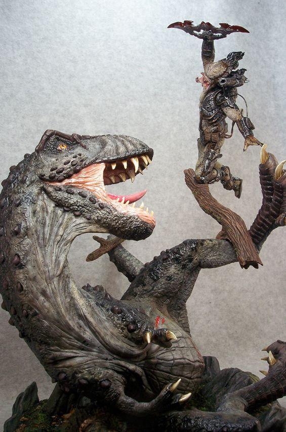 Objeto do Desejo do Dia - Predator Vs T-Rex