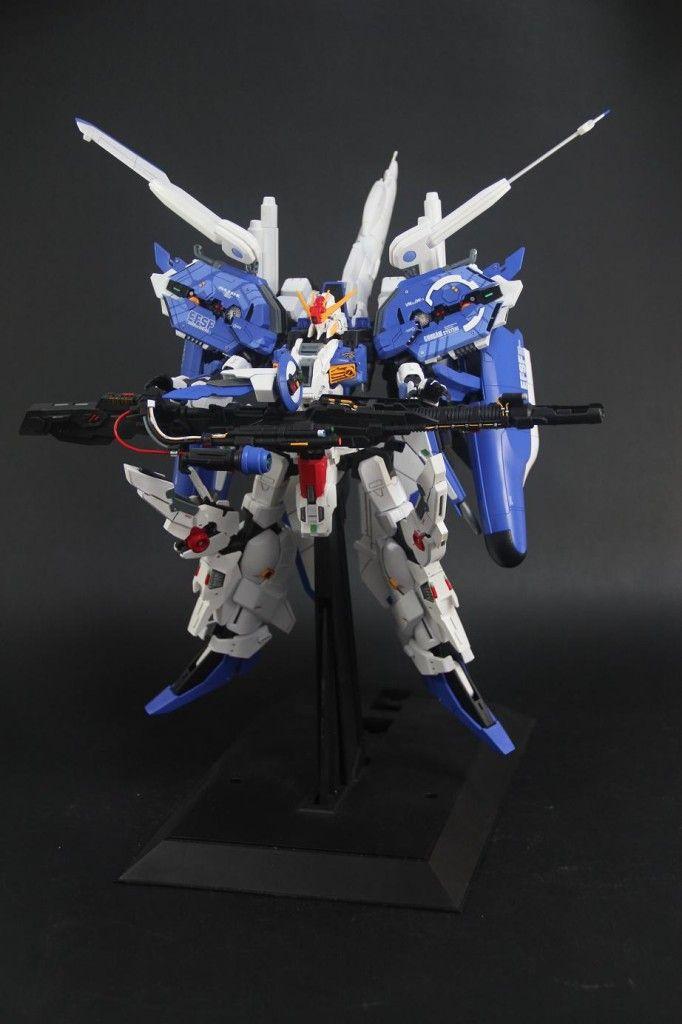 1/100 EX-S Gundam: Improved. Modeled by 黑山羊