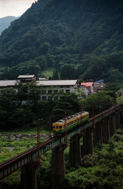 Toyama Chihou Raillway #toyama #japan