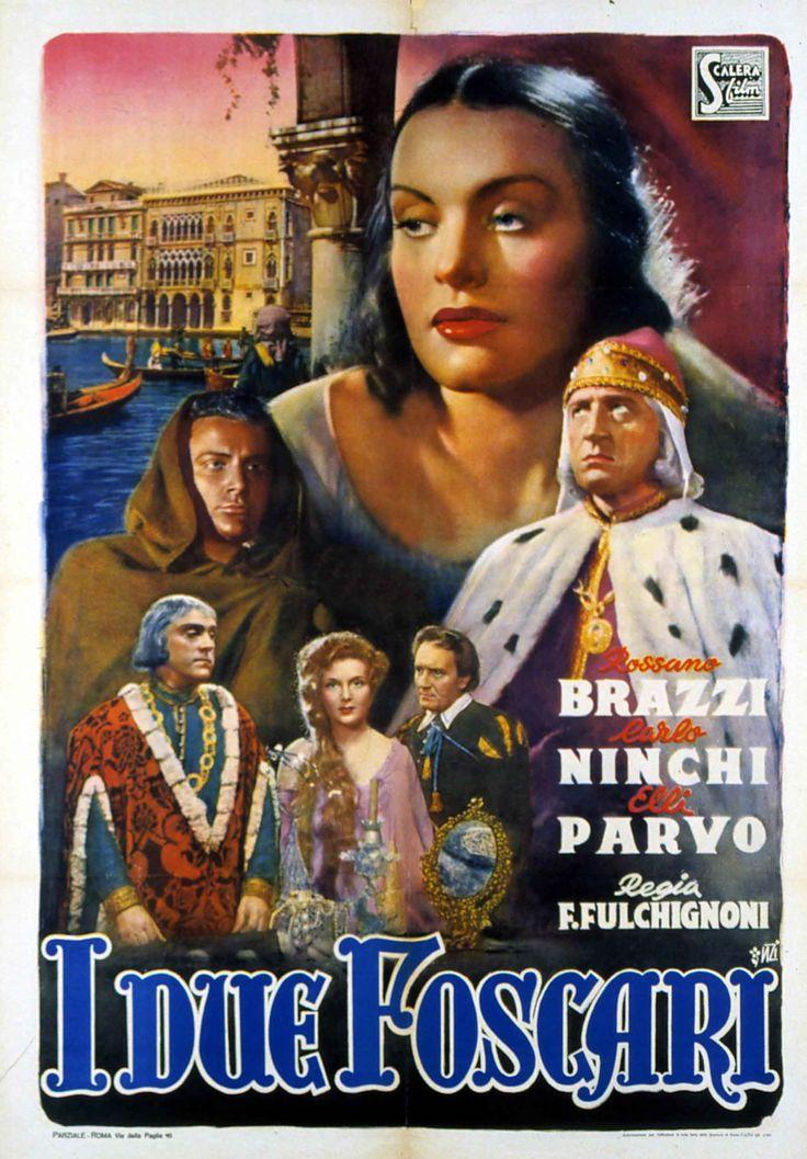 'I due Foscari' (1942); regia: Enrico Fulchignoni