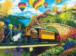 County Express Balloons Jigsaw Puzzle